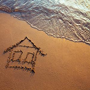 Strandhuisje bouwen