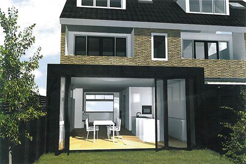 Aanbouw cube i hoogwaardige aanbouw of uitbouw - Te vergroten zijn huis met een veranda ...