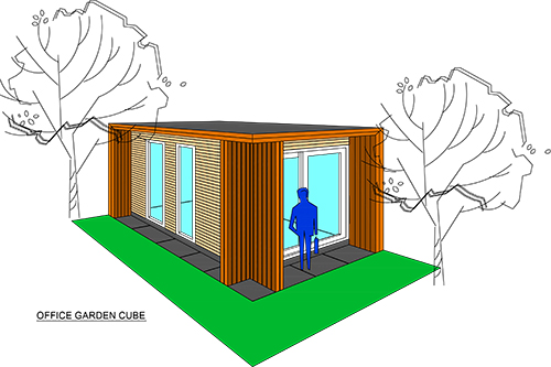 Garden Cube - Office Large