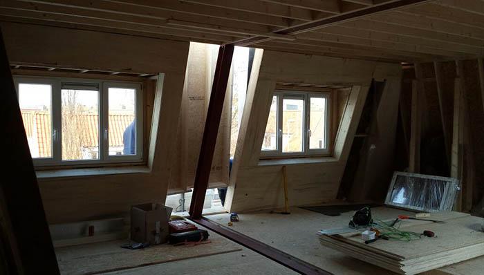 Opbouw Cube - Twee dakkapellen
