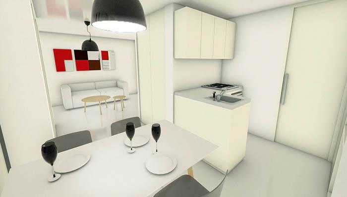 Woonhuis Cube - Keuken