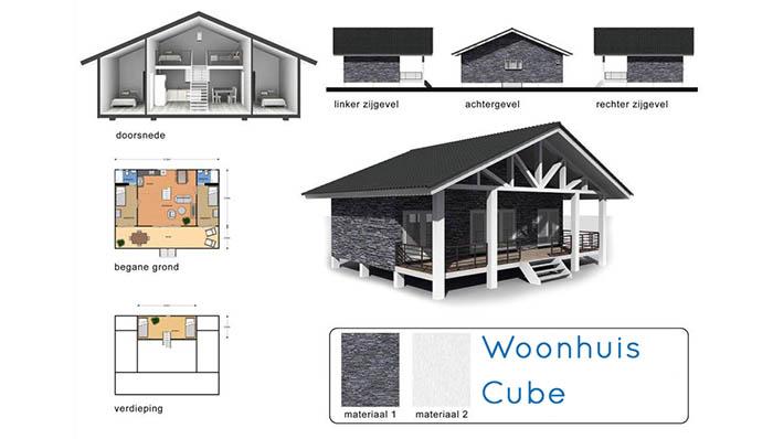Woonhuis Cube - Overzicht