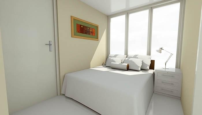 Woonhuis Cube - Slaapkamer